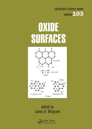 Oxide Surfaces: 1st Edition (Hardback) book cover