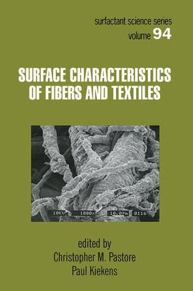 Surface Characteristics of Fibers and Textiles (Hardback) book cover