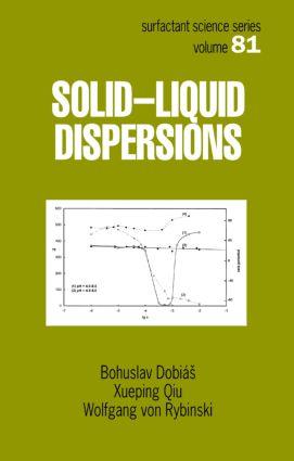Solid - Liquid Dispersions: 1st Edition (Hardback) book cover