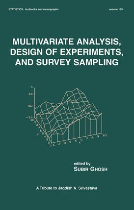 Multivariate Analysis, Design of Experiments, and Survey Sampling book cover