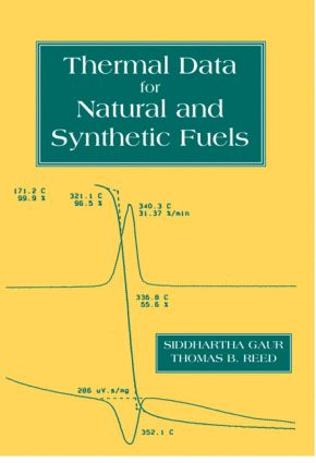 Thermal Data for Natural and Synthetic Fuels: 1st Edition (Hardback) book cover