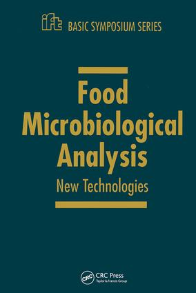 Food Microbiology and Analytical Methods: New Technologies, 1st Edition (Hardback) book cover