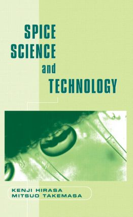 Spice Science and Technology book cover