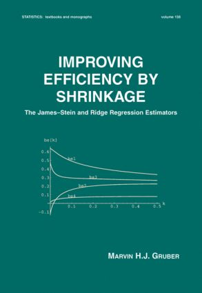 Improving Efficiency by Shrinkage: The James--Stein and Ridge Regression Estimators book cover