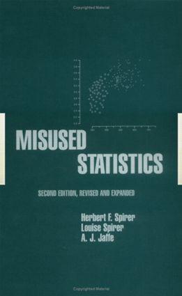 Misused Statistics: 2nd Edition (Hardback) book cover