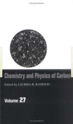 Chemistry & Physics of Carbon: Volume 27, 1st Edition (Hardback) book cover