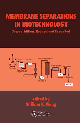 Membrane Separations in Biotechnology, Second Edition, book cover