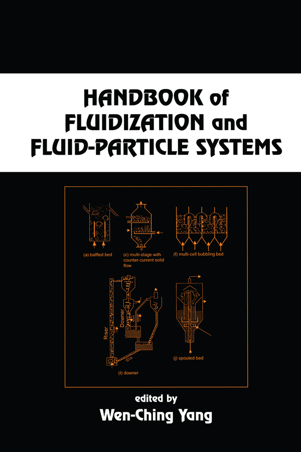 Handbook of Fluidization and Fluid-Particle Systems: 1st Edition (Hardback) book cover