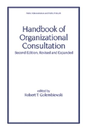 Handbook of Organizational Consultation, Second Editon book cover