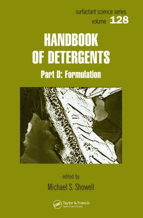 Handbook of Detergents, Part D: Formulation book cover