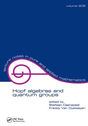 Hopf Algebras and Quantum Groups: 1st Edition (Paperback) book cover