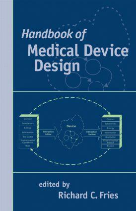 Handbook of Medical Device Design: 1st Edition (Hardback) book cover