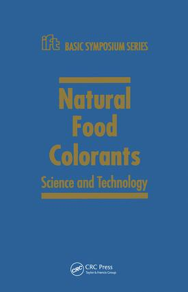 Natural Food Colorants: Science and Technology book cover