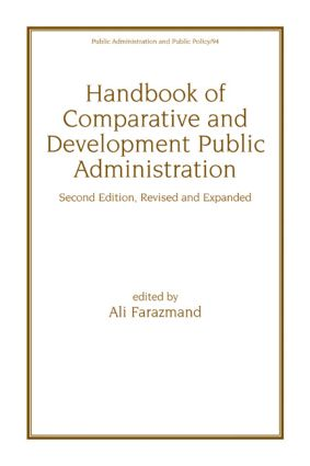 Handbook of Comparative and Development Public Administration book cover