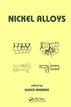 Nickel Alloys: 1st Edition (Hardback) book cover