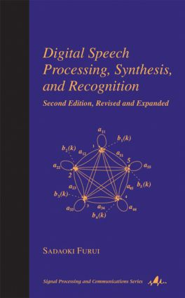 Digital Speech Processing: Synthesis, and Recognition, Second Edition, book cover