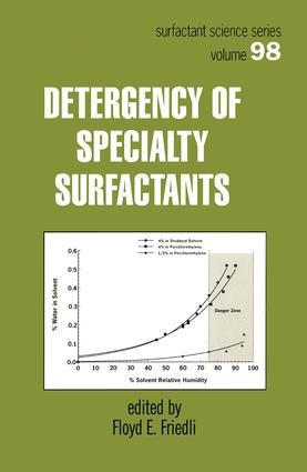Detergency of Specialty Surfactants: 1st Edition (Hardback) book cover