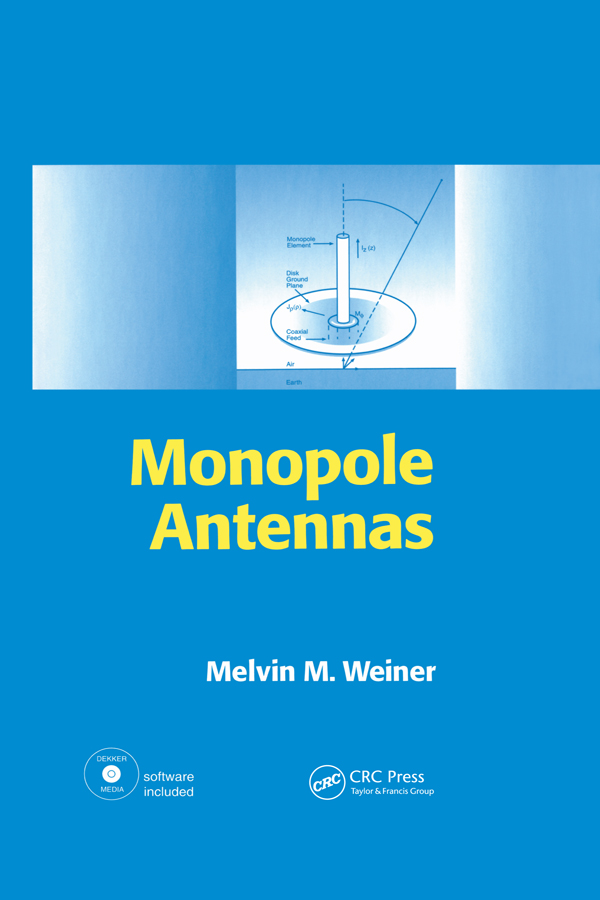 Monopole Antennas: 1st Edition (Hardback) book cover