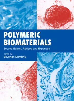 Polymeric Biomaterials, Revised and Expanded: 2nd Edition (Hardback) book cover