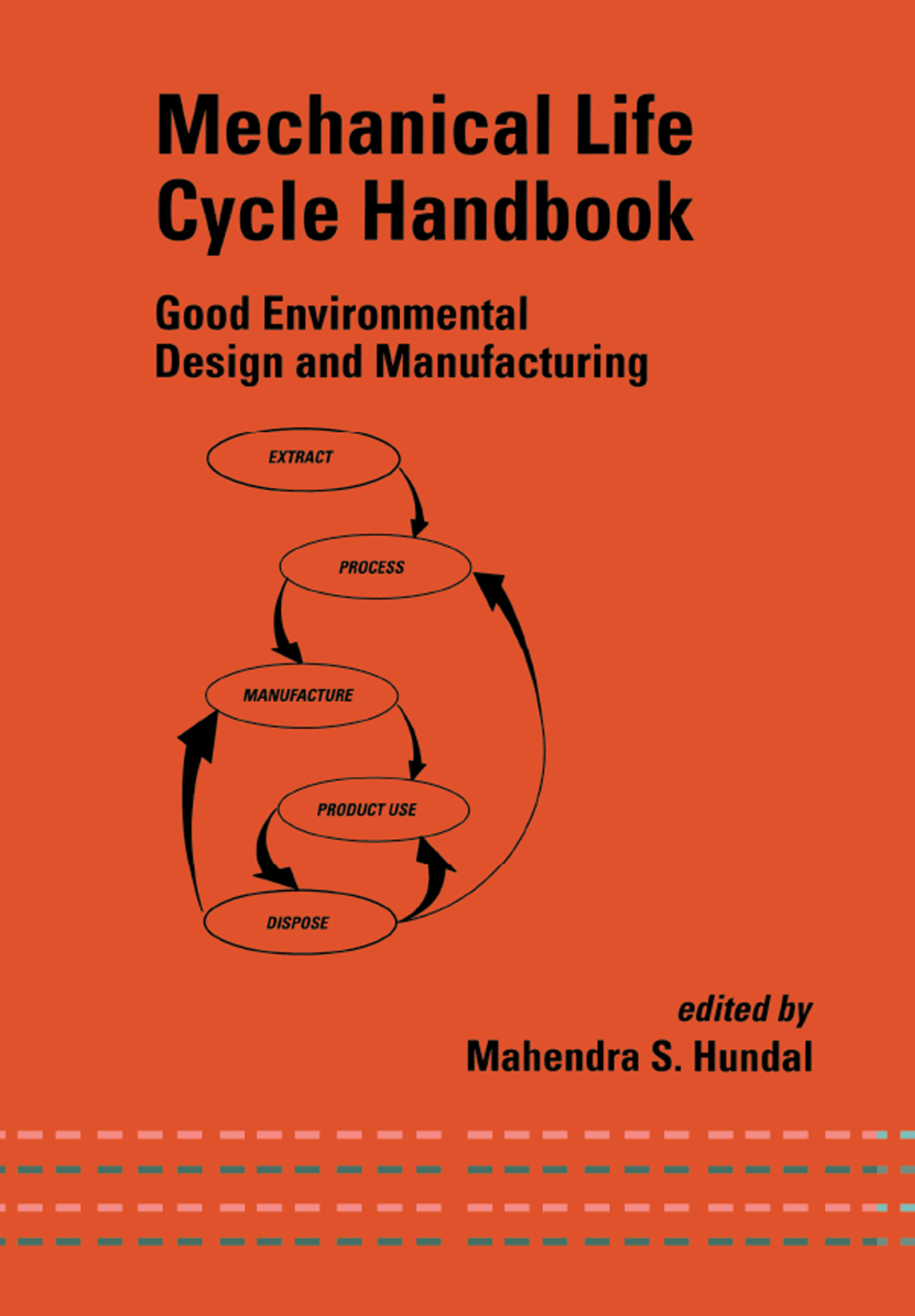 Mechanical Life Cycle Handbook: Good Environmental Design and Manufacturing, 1st Edition (Hardback) book cover