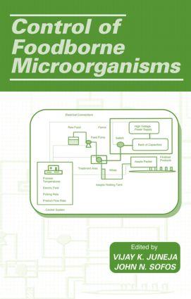 Control of Foodborne Microorganisms: 1st Edition (Hardback) book cover