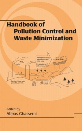 Handbook of Pollution Control and Waste Minimization (Hardback) book cover