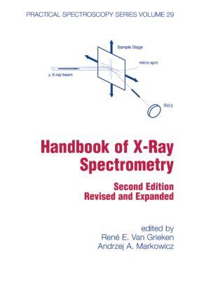 Handbook of X-Ray Spectrometry book cover