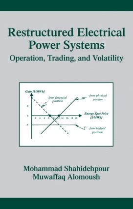 Restructured Electrical Power Systems: Operation: Trading, and Volatility, 1st Edition (Hardback) book cover
