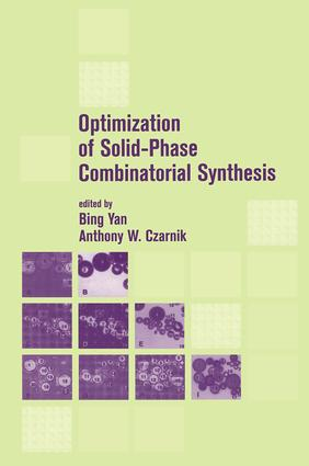 Optimization of Solid-Phase Combinatorial Synthesis: 1st Edition (Hardback) book cover