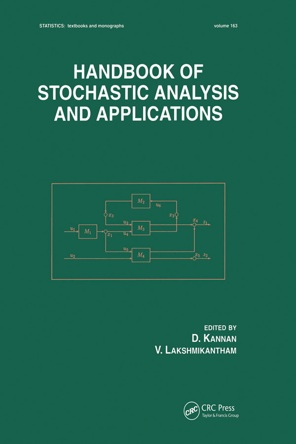 Handbook of Stochastic Analysis and Applications book cover