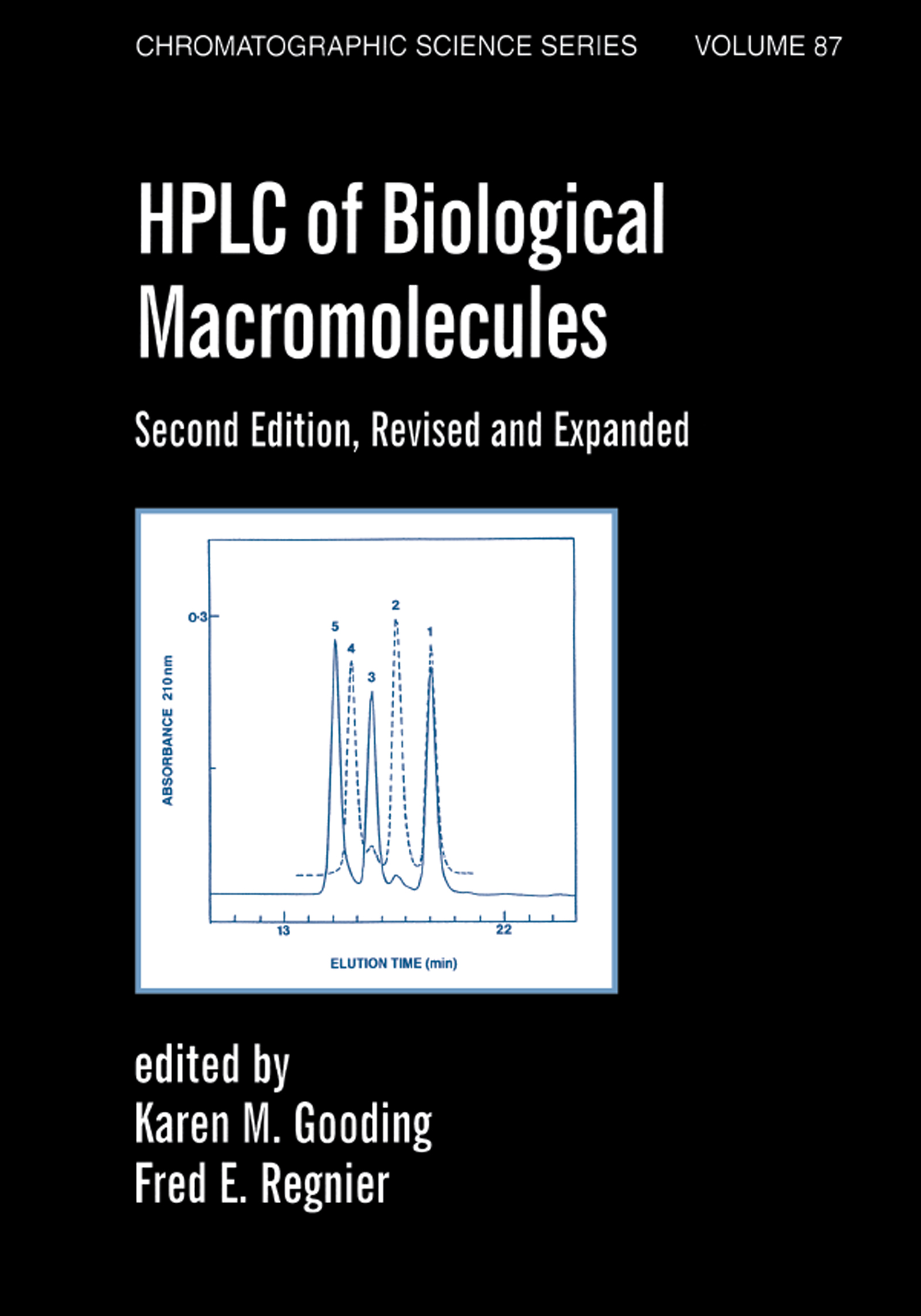 Hplc Of Biological Macro- Molecules, Revised And Expanded: 2nd Edition (Hardback) book cover