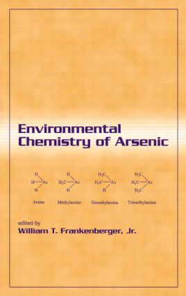 Environmental Chemistry of Arsenic: 1st Edition (Hardback) book cover
