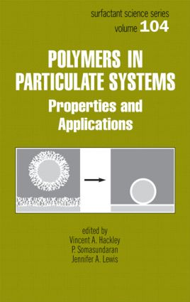 Polymers in Particulate Systems: Properties and Applications, 1st Edition (Hardback) book cover