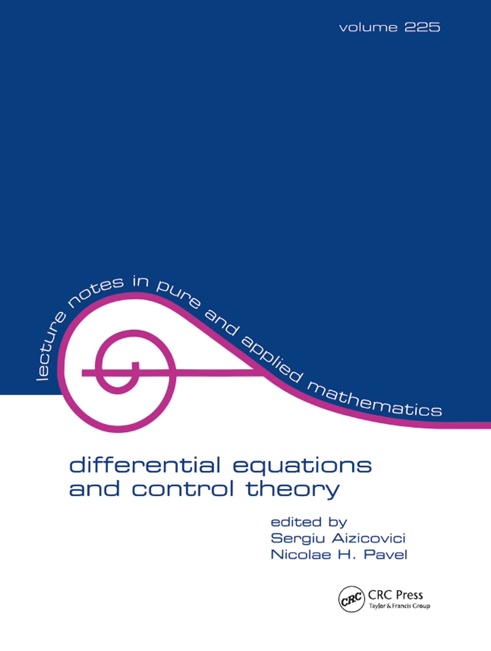 Differential Equations And Control Theory: 1st Edition (Paperback) book cover
