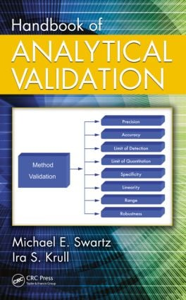 Handbook of Analytical Validation: 1st Edition (Hardback) book cover