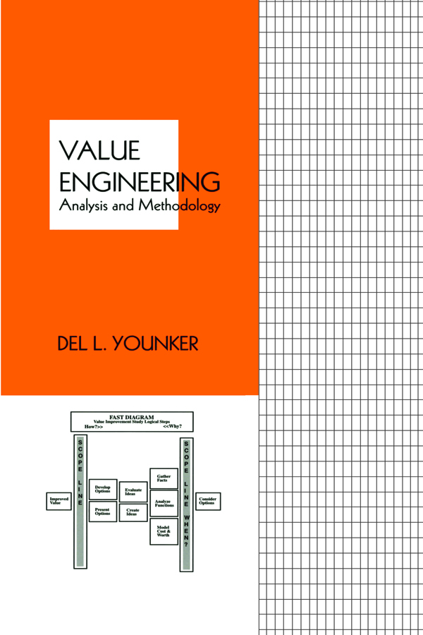 Value Engineering: Analysis And Methodology, 1st Edition (Hardback) book cover