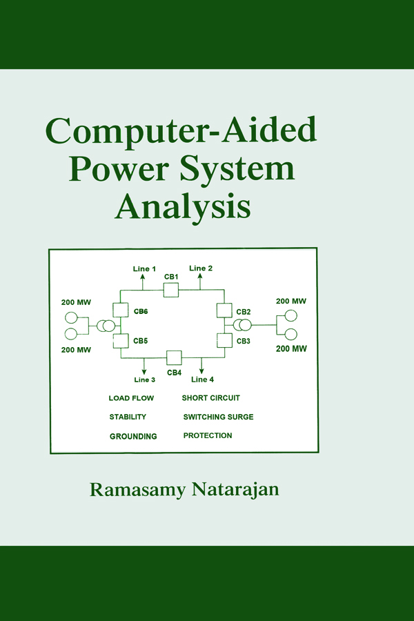Computer-Aided Power System Analysis book cover
