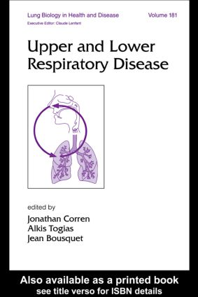 Upper and Lower Respiratory Disease: 1st Edition (Hardback) book cover