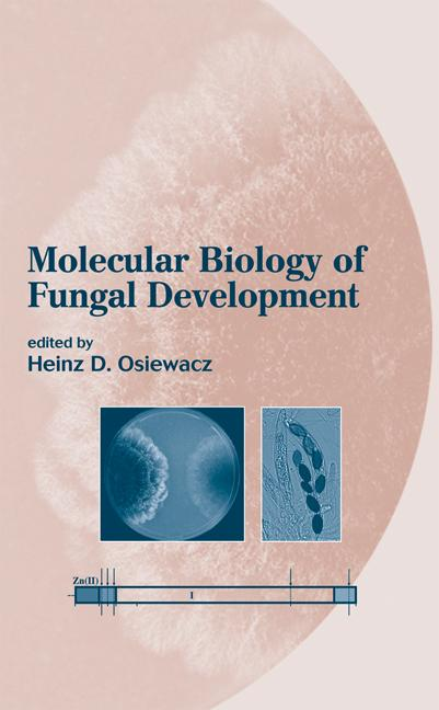 Molecular Biology of Fungal Development: 1st Edition (Hardback) book cover