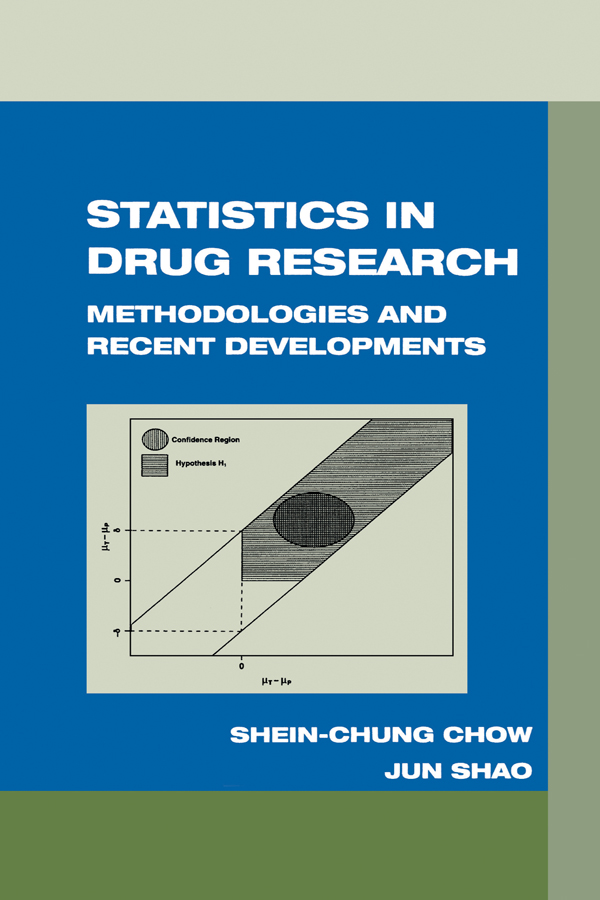 Statistics in Drug Research: Methodologies and Recent Developments, 1st Edition (Hardback) book cover