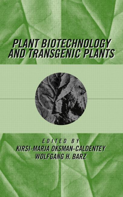 Plant Biotechnology and Transgenic Plants (Hardback) book cover