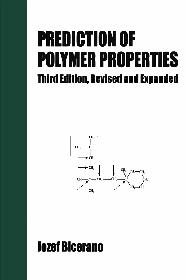Prediction of Polymer Properties: 3rd Edition (Hardback) book cover