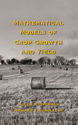 Mathematical Models of Crop Growth and Yield book cover