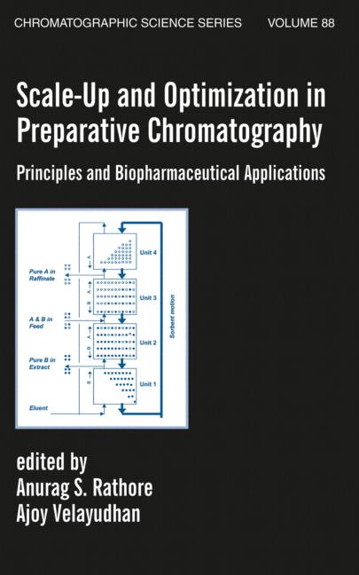 Scale-Up and Optimization in Preparative Chromatography: Principles and Biopharmaceutical Applications, 1st Edition (Hardback) book cover