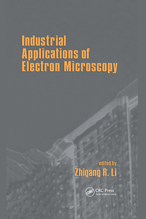Industrial Applications Of Electron Microscopy book cover