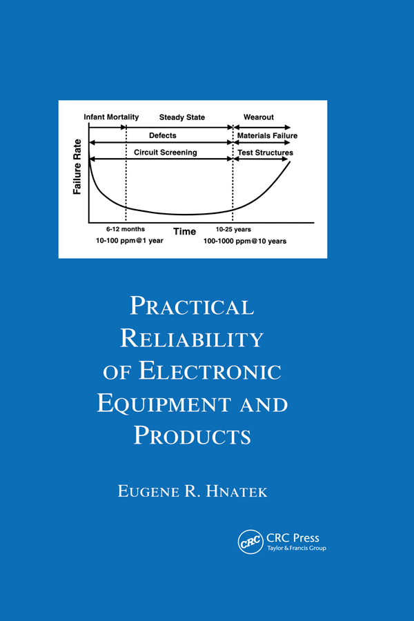 Practical Reliability Of Electronic Equipment And Products: 1st Edition (Hardback) book cover