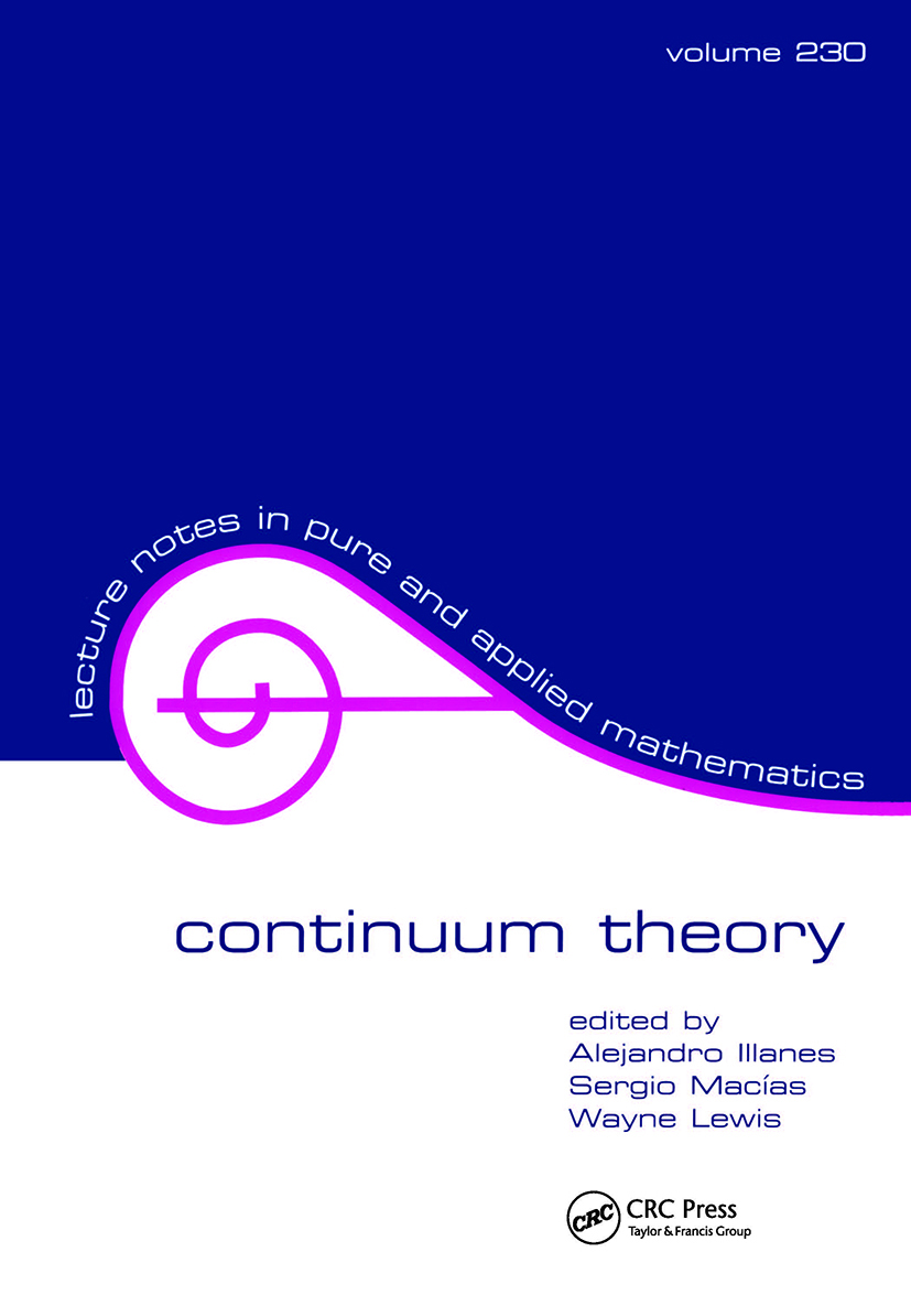 Continuum Theory: 1st Edition (Hardback) book cover