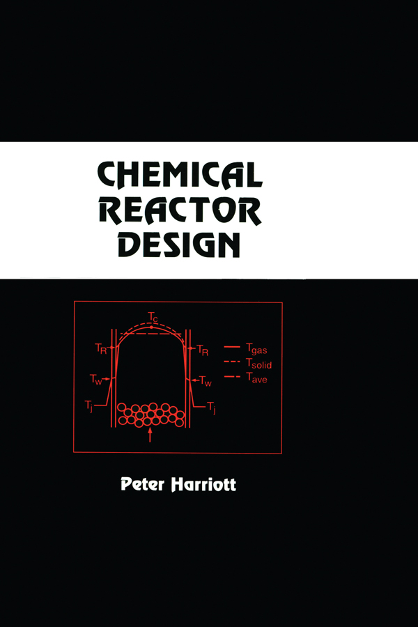 Chemical Reactor Design: 1st Edition (Hardback) book cover