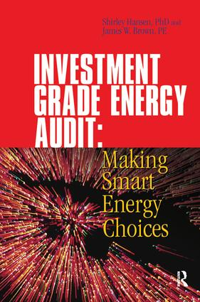 Investment Grade Energy Audit: 1st Edition (Hardback) book cover