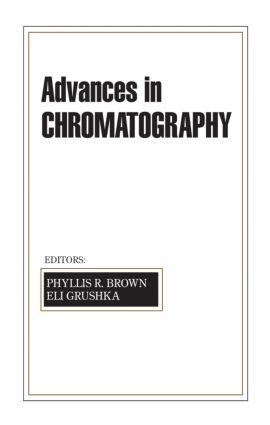 Advances in Chromatography: Volume 42, 1st Edition (Hardback) book cover